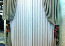 Bishop Sleeves Valance Window Treatment Cleaning provided by CFS