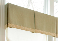 Box Pleat Valance Window Treatment Cleaning provided by CFS